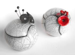 Rangez vos divers objets dans ces magnifiques boîtes en céramique made in France