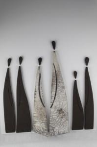 Atelier de la terre ronde Sylvie souton tableaux cadres créations céramiques made in france